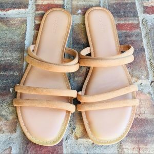 Old Navy Nude Strappy Sandals